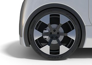 3D Car Wheel 3D model