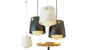 chandeliers lamp lighting 3D model