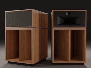 3D KLIPSCH La Scala AL5 Floorstanding Speaker