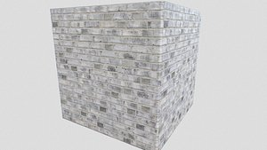 3D pbr brick walls