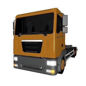 3D model base truck