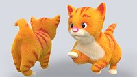 Fur Cute Cat kitten animated