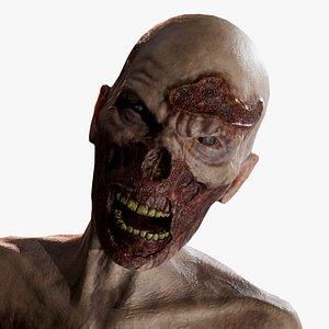 3D zombie creature