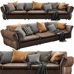3D sofa flexform model