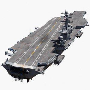 Nimitz Class Carrier 3D model