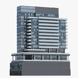 The Bond Condos V3 3D model