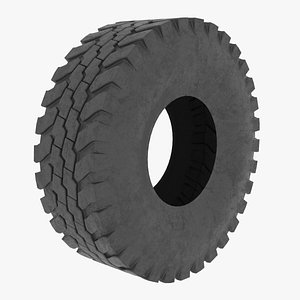 3D tire vehicle model
