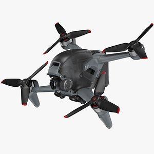dji fpv drone 3D model
