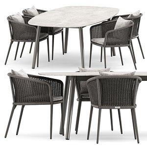 knot ellisse table model