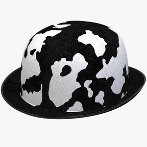 bowler black stain 3D
