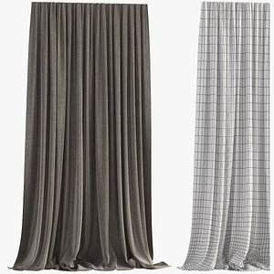 Curtain    Polygons 8508 3D model