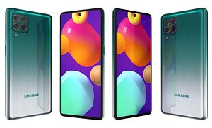 3D Samsung Galaxy M62 Laser Green