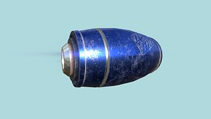 mega buster blue - model
