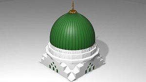 Kubah Masjid Nabawi 3D model