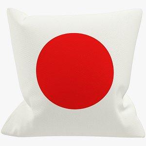 Sofa Pillow V42 3D model