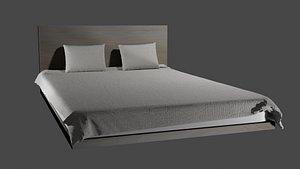 Simple Bed 3D model