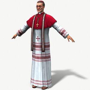bishop 3D model