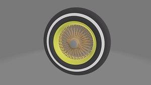 3D Lowrider Wheel