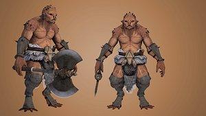 3D model goblin character