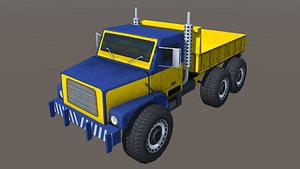 3D industry truck
