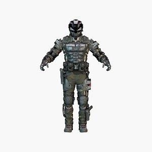 3D Cyber Ninja Warrior