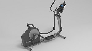 life fitness x1 3D model