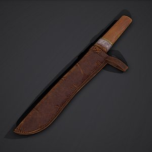 3D dagger viking