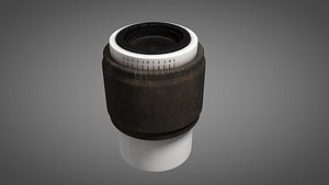 3D Microscope Ocular only model