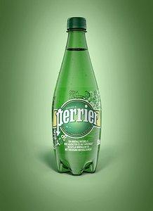 Bottle Perrier 50Cl 3D model