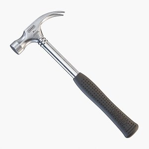 3D model claw hammer pbr