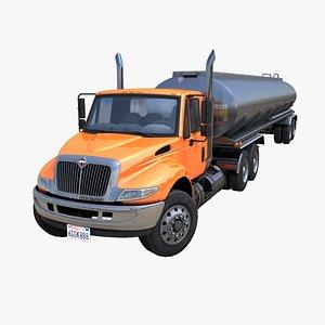 Industrial fuel trailer PBR model