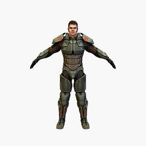 cyber soldierv4 3D