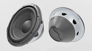 Speaker Woofer 04 - Blender 3d 3D