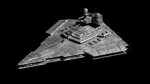 Victory 1 Class Star Destroyer 3D model