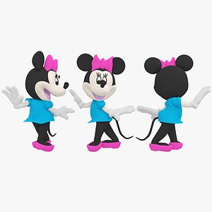 3D mickey mouse model