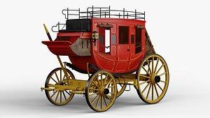 3D Stagecoach