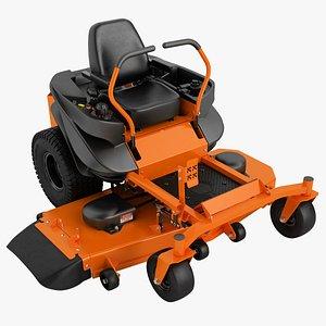 3D model riding lawn mowers