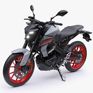 Yamaha MT-125 2020 3D model