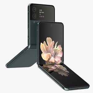 Samsung Galaxy Z Flip Green model