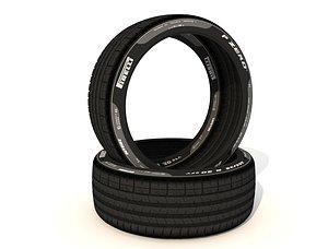 3D Tires Perelli Pzero