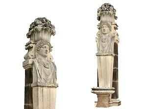 3D Rome Garden Sculpture model