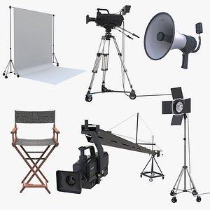Movie Set Film Studio Pack 3D