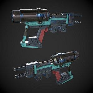 Photon Phaser Gun 3D model
