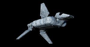 star wars sentinel-class landing craft model