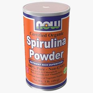NOW Spirulina Powder model