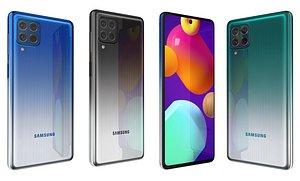 3D Samsung Galaxy M62 All Colors model
