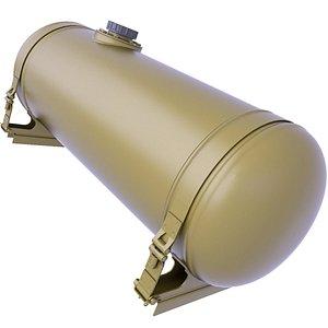 3D tank oil fuel model