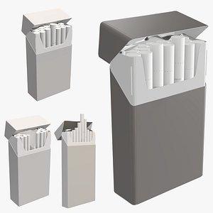 3D pack cigarette package model