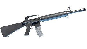 M16 Rifle model