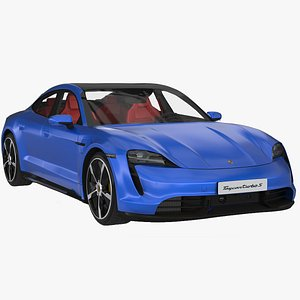 car coupe vehicle 3D